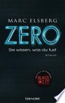 ZERO - Sie wissen, was du tust Book Cover